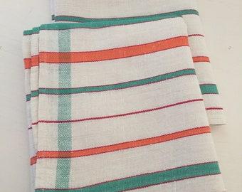 Set of 2 Vintage tea towels