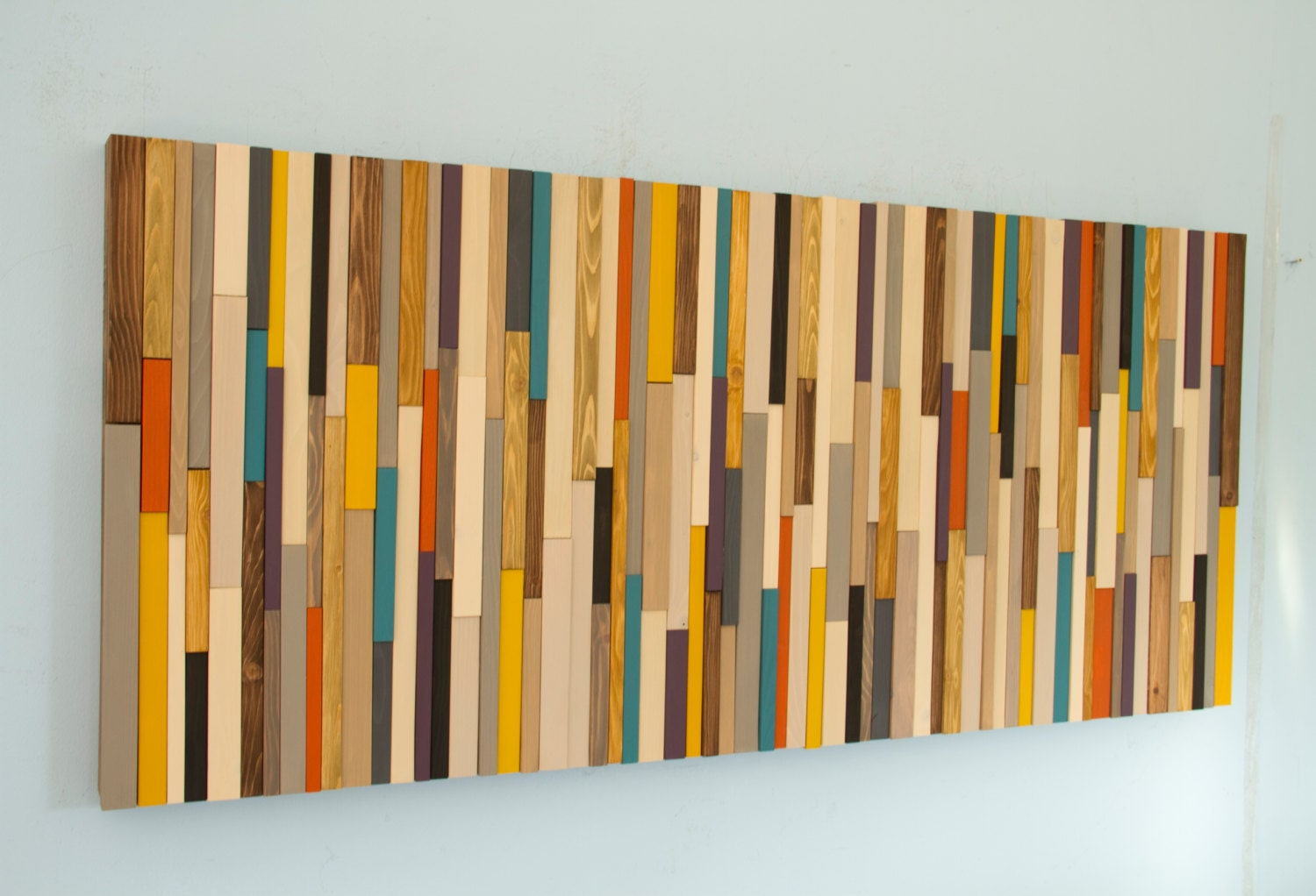 Wooden Wall Art For Sale Mid Century Wall Art Reclaimed Wood Art Sculpture Painted