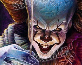Pennywise 11 x 14 print