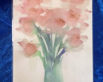 Pink Bouquet Giclee Print