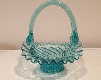 KANAWHA Bride's Basket, light blue
