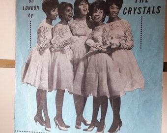 Original Vintage Sheet Music - The Crystals - Then He Kissed Me - 1963