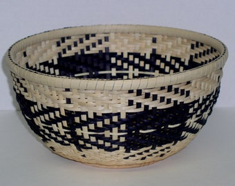 Digital Download, Instructions to Weave the Patchwork Twill Bowl, Pattern