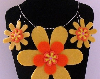 The Tropical Collection (Funky Felt Flowers)