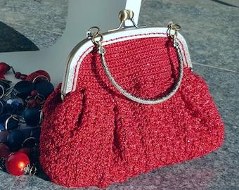Rouge tricoté embrayages