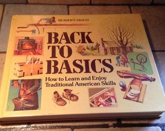1981 Back To Basics Book