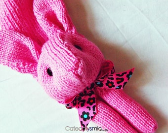 Candy Pink Bunny Rabbit Scarf