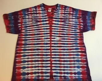 Striped Tie Dye Tee