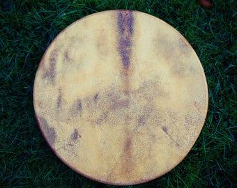 """18"""" Wild Boar skin drum"""