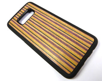 Made To Fit Samsung Galaxy s8, Recycled Skateboards, Wooden Samsung Case, Phone Case, Cool Gifts, Cool Phone Case, Unique Gifts