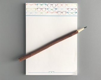 Eye Love Glasses Notepad