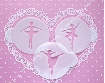 Ballerina Stencil Set