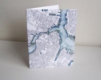 Greeting Cards - Boston-inspired