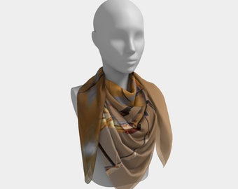 Never Too Old Western Scarf