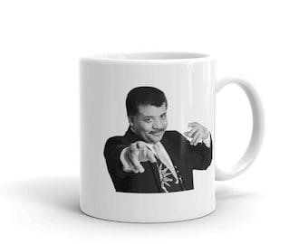 Neil DeGrasse Tyson MUG - Funny Science MUG , Neil Degrasse Tyson, Degrasse Tyson Gift, Astrophysics Mug, Tyson Mug Cup, Physics Coffee Mu