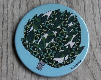 artichoke's coaster
