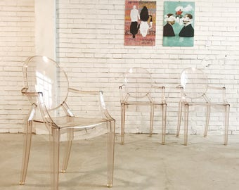 Louis Ghost Chair Kartell, Philippe Starck