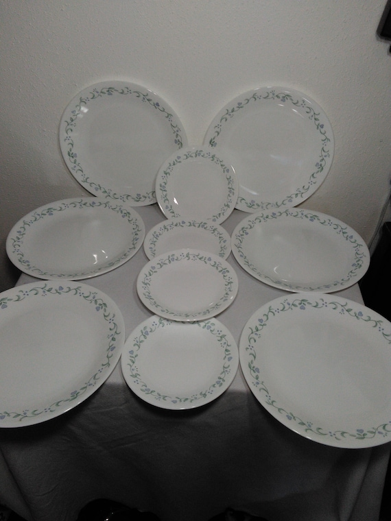 Like this item? & Corning Corelle Country Cottage Six 6 Dinner Plates and Four