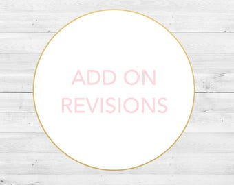 Add On Revisions, Additional Changes