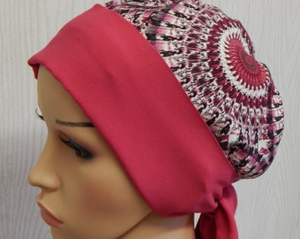 Chemotherapy head wrap, cancer bonnet head scarf, alopecia hair loss head wear, chemo caps, cancer head covering