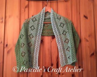 Beautiful handcrochet scarf shawl wrap