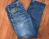 Vintage Boyfriend Jeans W...