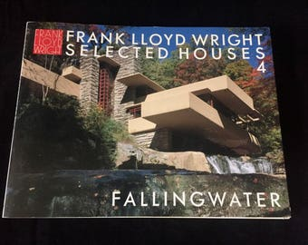 Frank Lloyd Wright Selected Houses 4 Fallingwater Bruce Brooks Pfeiffer Yukio Futagowa Softcover