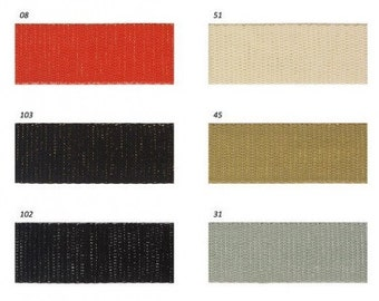 Strap color and metal single 30mm 4 colors