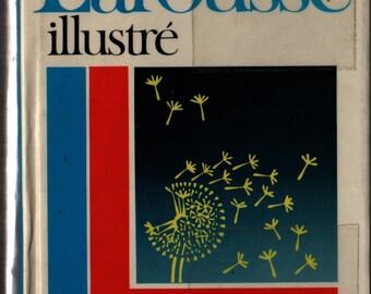 Petit Larousse Illustre Grand Dictionnaire Encyclopedique + 1987 + Vintage Book
