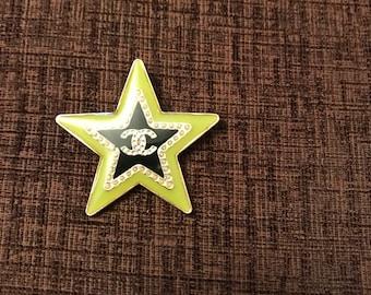 Last chance sale...Chanel star brooch