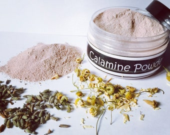 Calamine powder • Calamine lotion • itch relief •