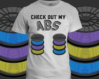 Check Out My ABS 3D Printing T-Shirt