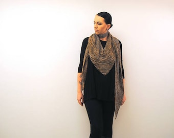 BARONIAL Knitting Pattern PDF DK weight Shawl
