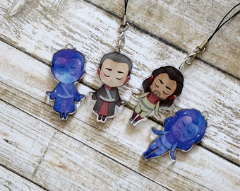 Chirrut/Baze Star Wars Rogue One Charm Set