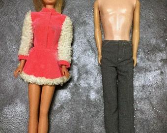 Barbie & Ken Dolls ~ Vintage