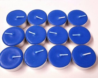 Ocean Breeze Scented Soy Tealight Candles Pick A Pack