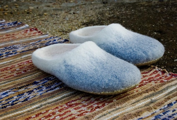 cozy slide felted home and slippers wool men woolen slippers shoes Slip from footwear felted Hygge Warm on slippers Bure for women Bure Rn4Wqvdx4