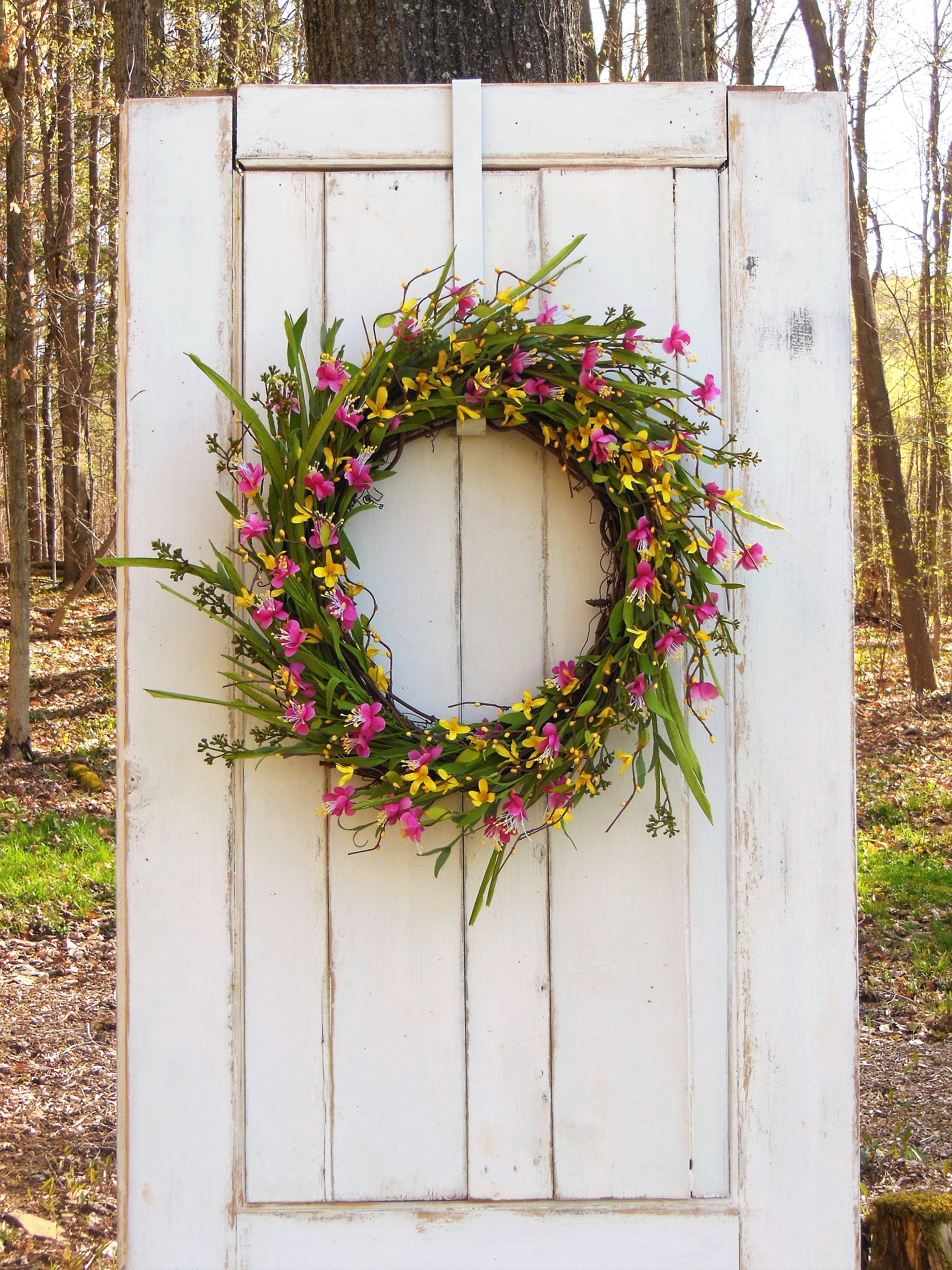 ideas adorn summer superb wreath creation to doors diy inspirations wreaths a the door minute and front easy beautiful simple spring