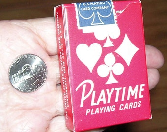 Playing Cards CHILDREN'S DECK, PLAYTIME, Vintage 1965-1976