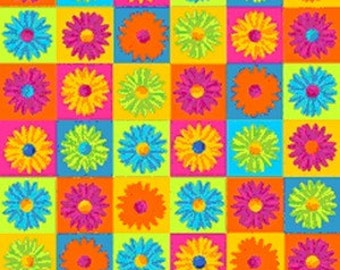 Springs Creative fabric CRAZY DAISY