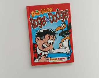 Roger the Dodger Notebook - Handmade from an old Beano book