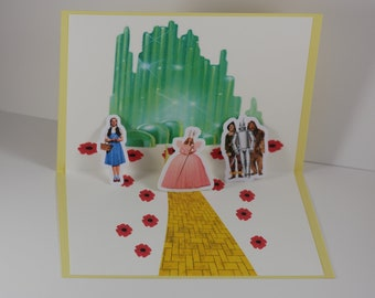 Wizard of oz card etsy the wizard of oz the wizard of oz birthday card dorothy birthday card bookmarktalkfo Image collections