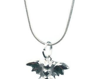 Dragon Halskette - feine Fabelwesen Silberschmuck