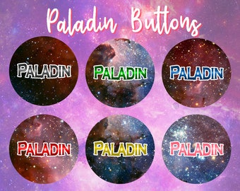Paladin Buttons