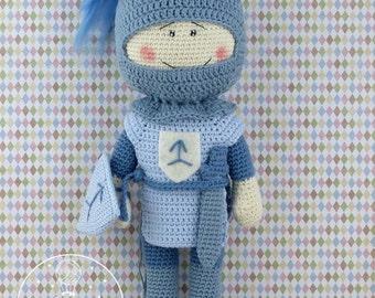 Crochet Knight - PDF pattern
