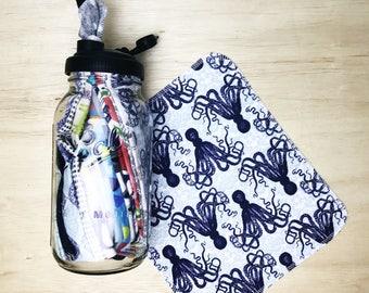 18 UNPAPER TOWELS KIT with ReCap Lid: 1/2 gallon