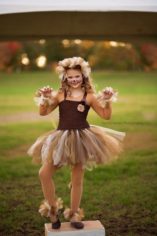 Lion Costume Lion Tutu Girls Dress Up Girls Gift Ideas