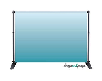 Pool Blue Ombre - Photography Backdrop