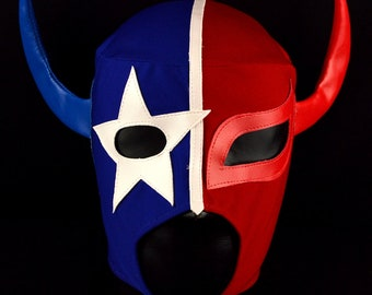 TEXANO Adult Mask Mexican Wrestling Mask Lucha Libre Luchador Costume Wrestler