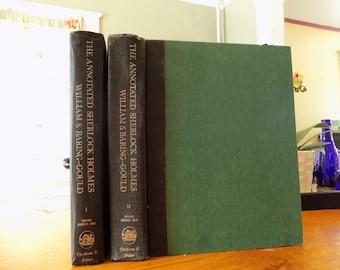 The Annotated Sherlock Holmes William Baring Gould. Sir Arthur Conan Doyle. Hardcover vol I & II 1967.